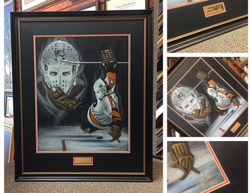 Bernie Parent Custom Art Frame