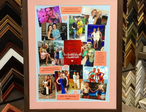 Custom Birthday Framing
