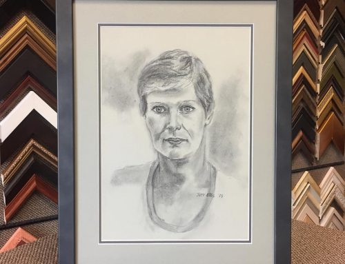 Original Art Charcoal Portrait